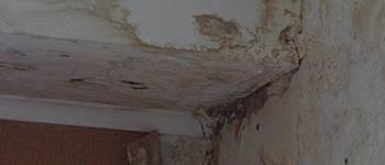Humedad en techos y muros